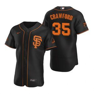 San Francisco Giants Brandon Crawford Jerseys
